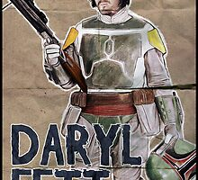 Daryl Fett : Zombie Hunter by SixPixeldesign