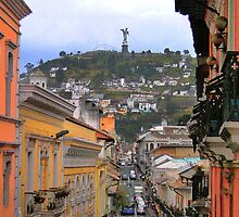 The Best View In Quito III by Al Bourassa
