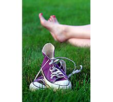 Barefoot in the Park Photographic Print