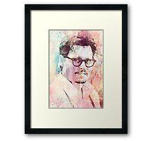 Johnny-Depp Framed Print