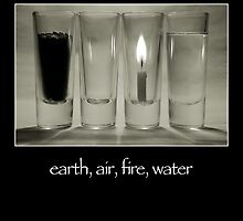 earth, air, fire, water by dsa157