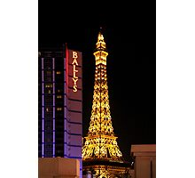 Eifel Tower - Las Vegas Photographic Print