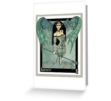 Jaded fantasy art Greeting Card