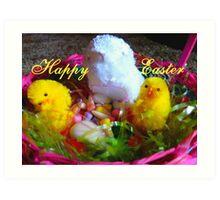 Happy Easter,  Art Print