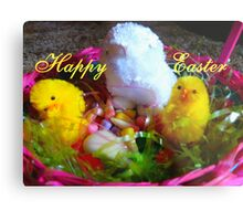 Happy Easter,  Metal Print