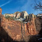 Zion National Park - A View from Zion Canyon by Stephen Beattie