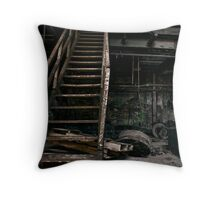 your crooked crutch Throw Pillow