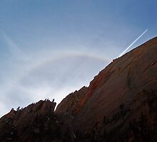 Halo - Zion National Park by Stephen Beattie