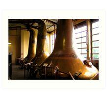 The Whisky Stills. Art Print