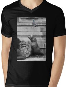 You going to eat all of that? Mens V-Neck T-Shirt