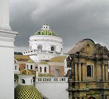 Another Quito Ecuador View by Al Bourassa