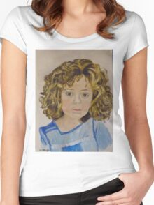 alara Women's Fitted Scoop T-Shirt