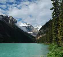 Lake Louise - 6  by Barbara Burkhardt
