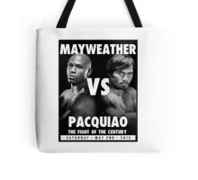 Floyd Money Mayweather VS Manny Pacman Pacquiao May 2nd 2015 Tote Bag