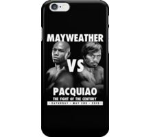 Floyd Money Mayweather VS Manny Pacman Pacquiao May 2nd 2015 iPhone Case/Skin