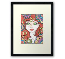 Ginger Fairy Framed Print