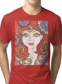 Ginger Fairy Tri-blend T-Shirt