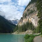 Lake Louise  - 2 by Barbara Burkhardt