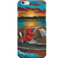 Hog'n the Lake by Shawna C Elliott iPhone Case/Skin