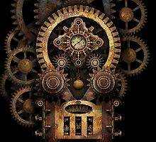 Infernal Steampunk Machine #2B by Steve Crompton