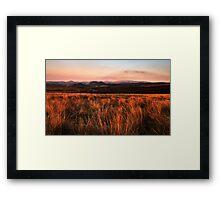 CHEVIOT DUSK Framed Print