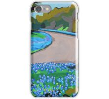 Bluebonnet Road iPhone Case/Skin