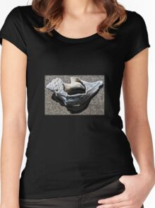 SHELL DREAM Women's Fitted Scoop T-Shirt