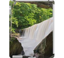 Below Indiana's Anderson Falls iPad Case/Skin