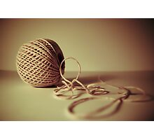 Twisted Twine Photographic Print