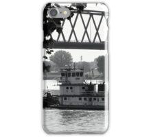 Tug That Barge! iPhone Case/Skin