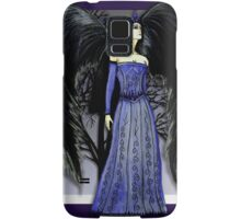 Dark Raven Angel Fantasy art Samsung Galaxy Case/Skin