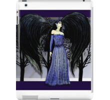 Dark Raven Angel Fantasy art iPad Case/Skin