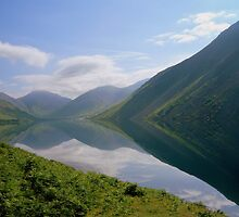 The Lake District: Wast Water Reflections 2. by Rob Parsons