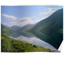 The Lake District: Wast Water Reflections 2. Poster