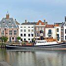 Steam tug Furie in the harbour of Maassluis - Netherlands by Arie Koene