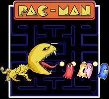 Pac-Man by KCDragons