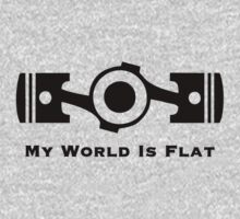 My World is Flat by upick