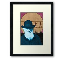 Mr. Darwin Framed Print