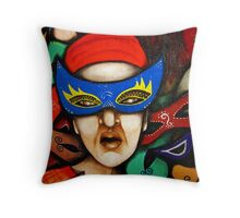 MASKS (A) Throw Pillow