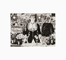 """From a carbon paper trace monotype after Edouard Manet's """"A Bar at the Folies-Bergere."""" T-Shirt"""