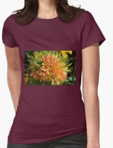 Rare orange fritillaria flower Womens Fitted T-Shirt
