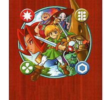 The legend of zelda oracle of season Phone Case by Pompelmo