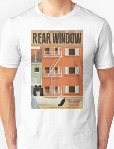 Rear Window alternative movie poster Unisex T-Shirt