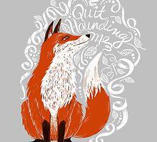 The Fox Says... by TotalBabyCakes