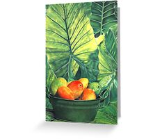 Tropical Fruit #2 Greeting Card