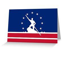 Flag of RIchmond Greeting Card