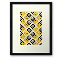 Gameboy Color (YELLOW) Framed Print