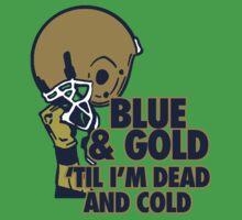 Blue & Gold by jephrey88