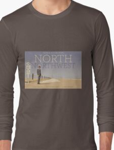 North by Northwest alternative movie poster Long Sleeve T-Shirt