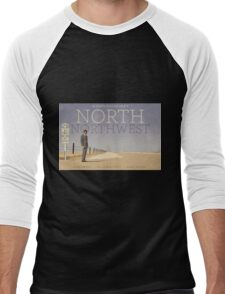 North by Northwest alternative movie poster Men's Baseball ¾ T-Shirt